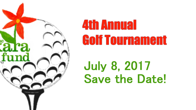 Save the Date for our 4th Annual Golf Tournament